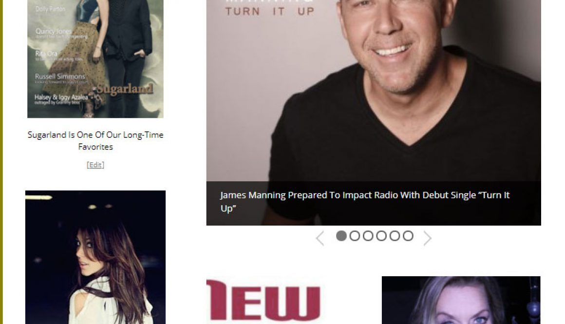 James Manning New Music Weekly
