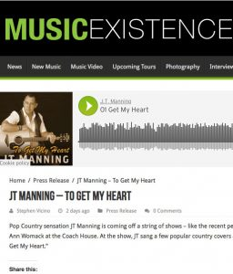 James Manning Music Existence